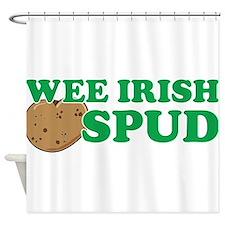 Wee Irish Spud Shower Curtain