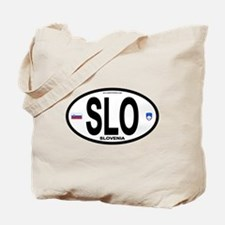 Slovenia Euro-style Code Tote Bag