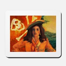 Anne Bonny & Orange Roger Mousepad