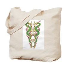 Double Dragons Tote Bag