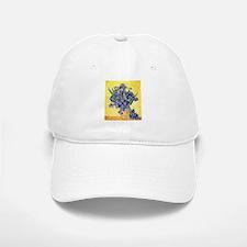 Van Gogh Iris Vase Baseball Baseball Cap