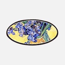 Van Gogh Iris Vase Patch