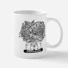 0VERWHELMED Mug