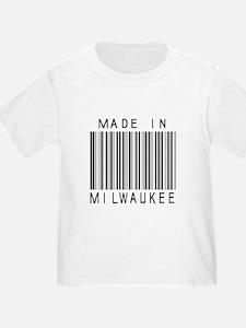 Milwaukee barcode T-Shirt