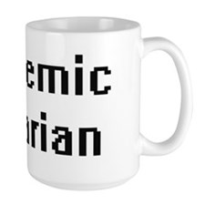Academic Librarian Retro Digital Job Design Mugs