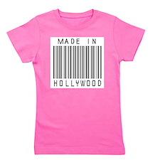 Hollywood barcode Girl's Tee