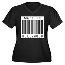 Hollywood barcode Plus Size T-Shirt