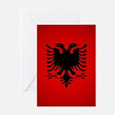 Albania v1 Greeting Cards