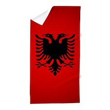 Albania v1 Beach Towel