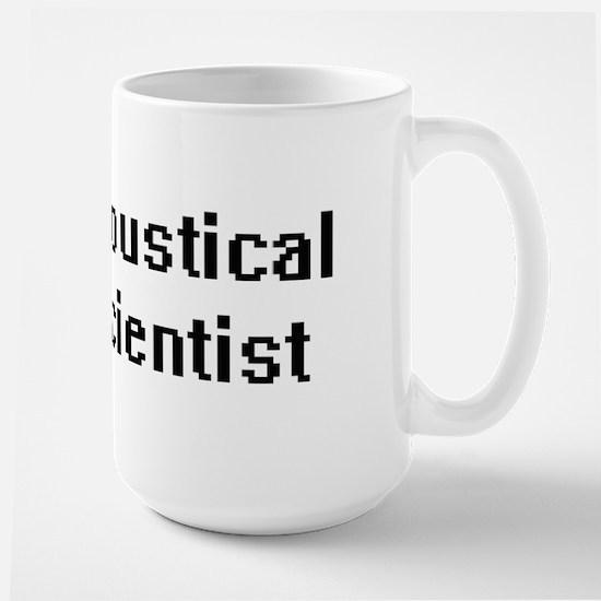 Acoustical Scientist Retro Digital Job Design Mugs