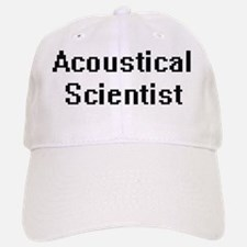 Acoustical Scientist Retro Digital Job Design Baseball Baseball Cap