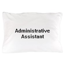 Administrative Assistant Retro Digital Pillow Case