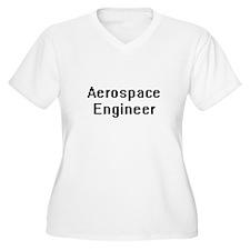Aerospace Engineer Retro Digital Plus Size T-Shirt
