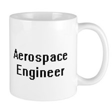Aerospace Engineer Retro Digital Job Design Mugs