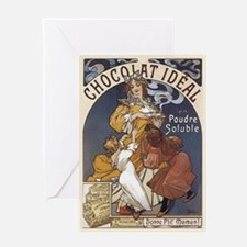 Chocolate Single 5x7 Greeting Card