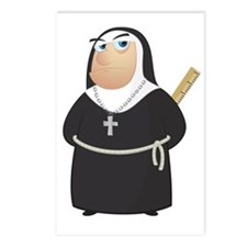 Angry Nun Postcards (Package of 8)