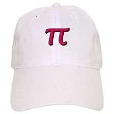 Pi Symbol - Raspberry Color Baseball Cap