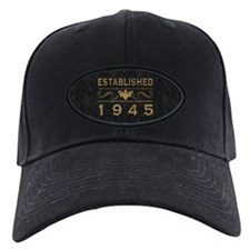1945 Birth Year Baseball Hat