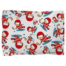 Ice Hockey Penguins Pillow Sham