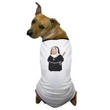 Angry Nun Dog T-Shirt
