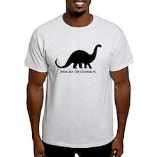 'Jesus 8 Dinos' T-Shirt