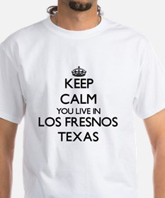 Keep calm you live in Los Fresnos Texas T-Shirt
