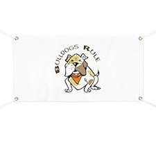 BULLDOGS RULE Banner