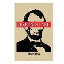 Cute Honest abe Postcards (Package of 8)