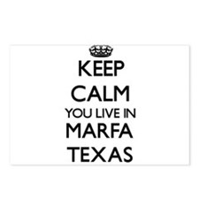 Keep calm you live in Mar Postcards (Package of 8)