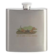 LONG LITTLE DOGGIE Flask