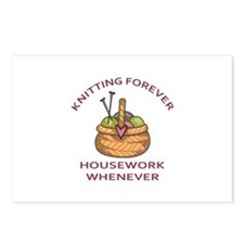 KNITTING FOREVER Postcards (Package of 8)