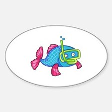 FISH SNORKELING Decal