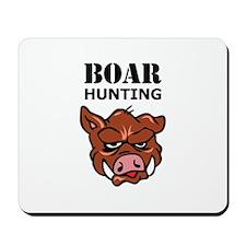 BOAR HUNTING Mousepad