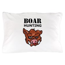 BOAR HUNTING Pillow Case
