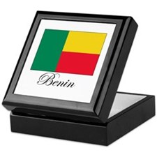 Benin - Flag Keepsake Box