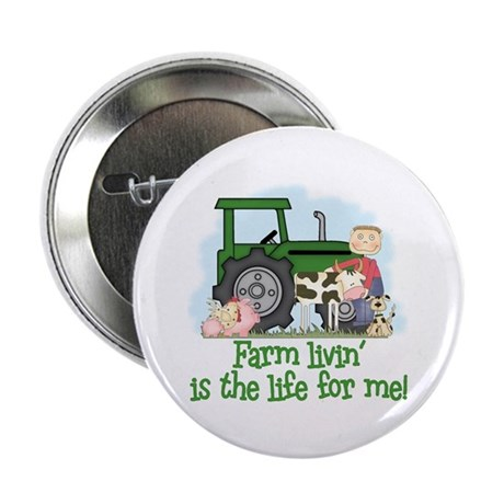 Farm Livin' (Boy) Button
