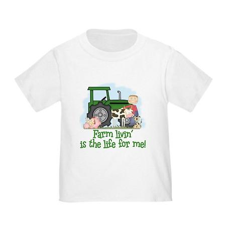 Farm Livin' (Boy) Toddler T-Shirt