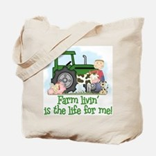 Farm Livin' (Boy) Tote Bag