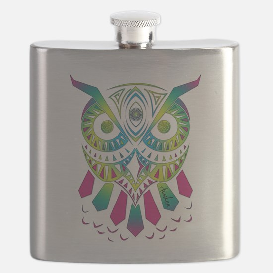 Funny Techno Flask