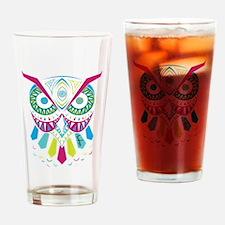 3rd Eye Awaken Owl Drinking Glass