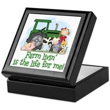 Farm Livin' (Girl) Keepsake Box
