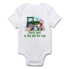 Farm Livin' (Girl) Infant Bodysuit