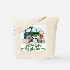 Farm Livin' (Girl) Tote Bag