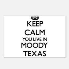 Keep calm you live in Moo Postcards (Package of 8)