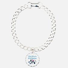 FASHIONABLE 25TH Charm Bracelet, One Charm