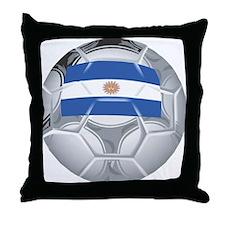 Argentina Futbol Throw Pillow