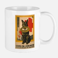 RED CROSS DOG coffee cup