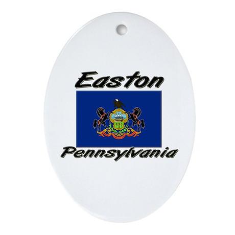 Easton Pennsylvania Oval Ornament