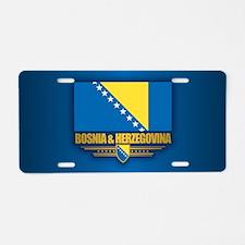 Bosnia and Herzegovina Aluminum License Plate