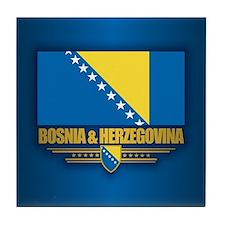 Bosnia and Herzegovina Tile Coaster